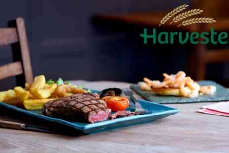 Harvester Restaurants - Two Course Meal for Two - Save 44%
