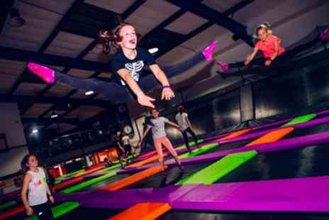 Atmosphere Trampoline Park - Two Hour Trampoline Park Entry for One, Two or Four - Save 35%