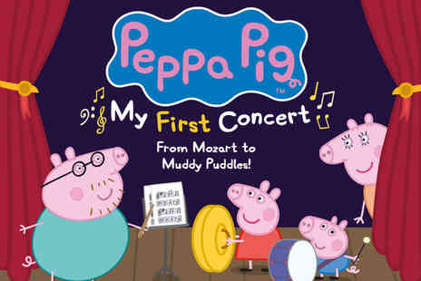 Fiery Angel Entertainment - Ticket to Peppa Pig My First Concert - Save 55%