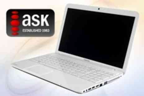 ASK Direct - Toshiba Satellite Laptop With 320GB Hard Drive, 2GB Memory and Intel Celeron Processor - Save 28%