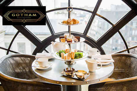 Hotel Gotham - Stunning afternoon tea for two people with a glass of Prosecco each - Save 44%