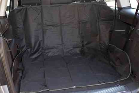 Groupon Goods Global GmbH - Two in One Car Boot Seat Protectors - Save 70%