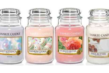 Groupon Goods Global GmbH - Yankee Candle Large Jar Collection: One, Two or Four Jars - Save 42%