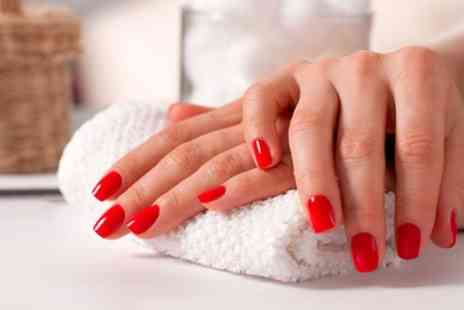 Marcia Lima Beauty - Shellac Manicure or Pedicure or Both - Save 59%
