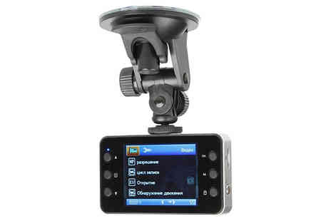 J Star Direct - HD Car Dash Camera With Suction Mount Choose from 720p or 1080p - Save 67%
