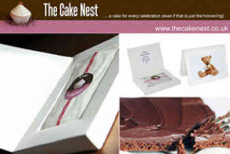The Cake Nest - Personalised Cake Card - Save 40%