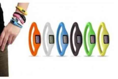 WooHooDeal - Fashionable ion Silicone Watch - Save 75%