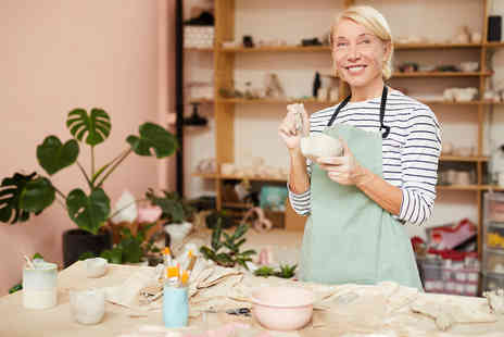 Midas Touch Crafts - Two hour Byob pottery workshop for one person - Save 81%