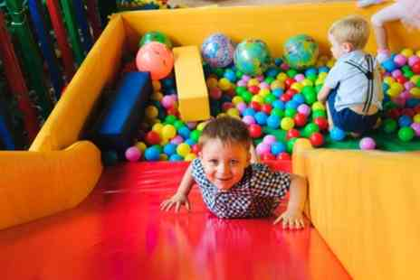 Atlantis Soft Play - Play Entry and Jug of Juice for Two or Four Children - Save 40%