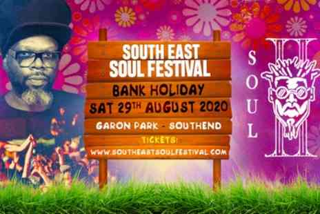 South East Soul Festival 2020 - One early entry ticket or five advanced discount tickets on 29th August 2020 - Save 25%