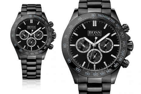 Cheap Designer Watches - Hugo Boss HB1512961 stainless steel mens watch - Save 68%