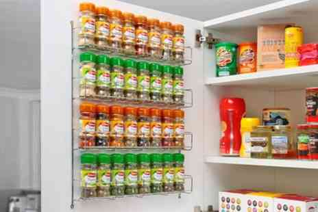 Groupon Goods Global GmbH - One or Two Neo Chrome Spice Racks - Save 48%