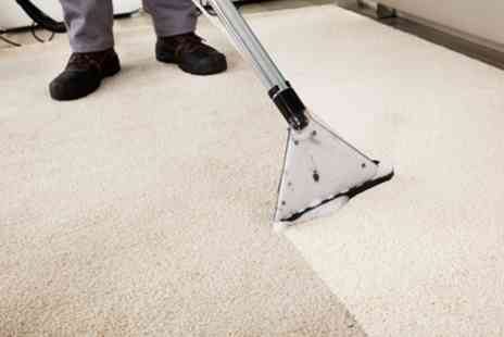 All Clean - Carpet Clean for Two Rooms with Optional Three Seat Sofa Clean - Save 54%