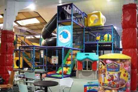 Manic Monsters - Off Peak or Peak Two Hour Soft Play Entry for Two Kids and Two Adults - Save 29%