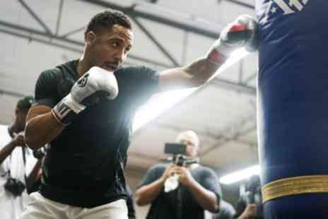 An Evening with boxer Andre Ward - Standard, Gold or VIP Ticket from 16th To 23rd April - Save 21%