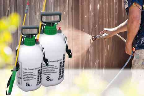 Direct2public - Five liter fence and weed sprayer - Save 77%