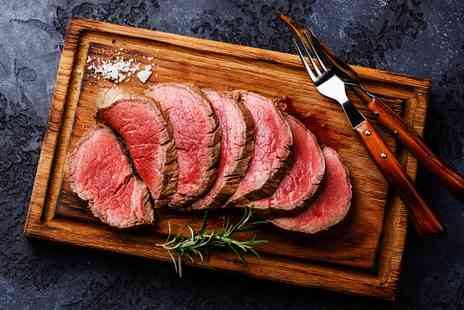 The Church Green - Chateaubriand meal for Two - Save 25%