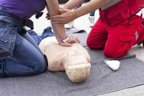 First Aid Training Organisation - One Day first aid course including a three year certificate for one person - Save 71%