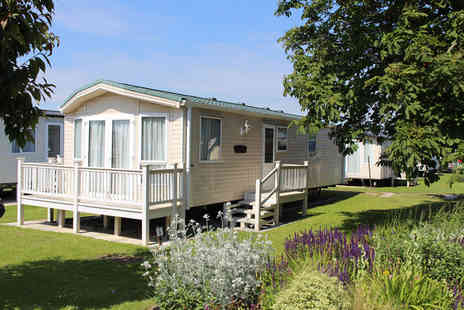 Wigbay Holiday Park - Three nights Loch Ryan caravan stay for four - Save 0%