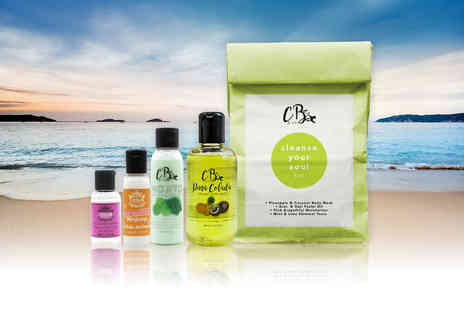 Cougar Beauty Products - Four piece Cleanse Your Soul detox pack refresh and revive your beauty routine - Save 80%