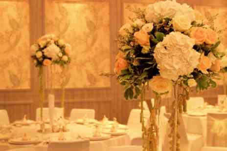 Doubletree by Hilton London - Wedding Package for 50 Day Guests and 85 Evening Guests - Save 47%