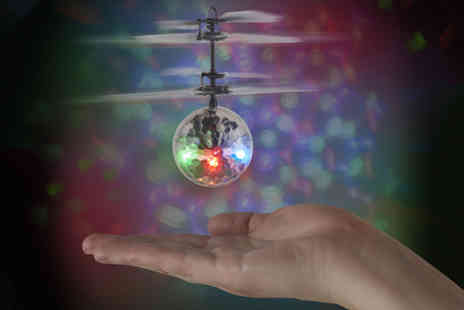 Esher Mail Order - Disco ball drone - Save 80%