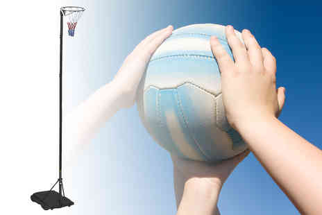 Who Needs Shops - Adjustable netball post - Save 0%