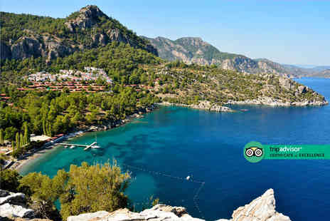 Super Escapes Travel - Five Star Seven nights all inclusive Marmaris getaway with return flights - Save 53%