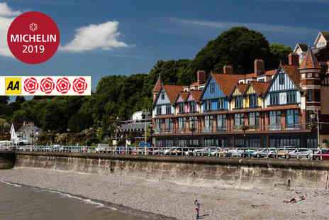 Restaurant James Sommerin - Five Star Overnight Penarth stay with breakfast, bottle of Prosecco, late check out - Save 36%