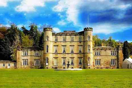 Melville Castle Hotel - Overnight stay for two people with breakfast, dinner and late check out - Save 24%