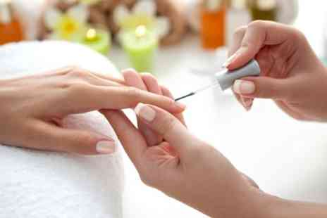Jessis Nails and Spa - Classic Shellac Manicure, Pedicure or Both - Save 41%