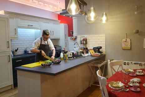Personal Chef Edinburgh - Relaxing Handmade Pasta with meal and wine Cooking Class - Save 0%