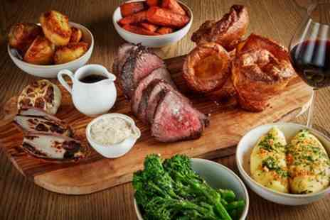 The Albany Gastropub - 2 or 3 Course Gastropub Sunday Roast for Up to 4 - Save 37%