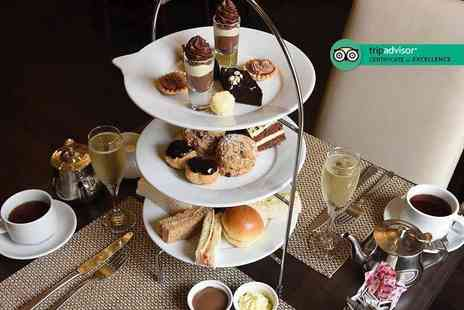 Grand Royale London Hyde Park - Chocolate afternoon tea for two people with a glass of Prosecco each - Save 51%