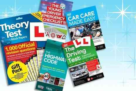 eOutlet - Driving test premium pack from eOutlet - Save 84%