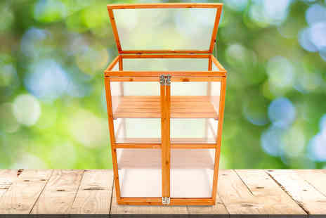 Who Needs Shops - Wooden cold frame grow house - Save 72%