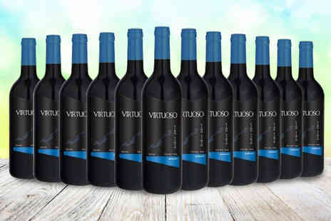 Q Regalo - 12 bottle set of monovarietal virtuoso wine - Save 0%