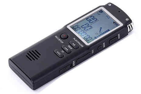 J Star Direct - Professional Digital Voice Recorder with 8GB Memory - Save 50%