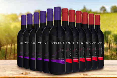 Q Regalo - 12 bottles of Virtuoso red wine - Save 0%