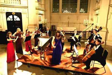 Candlelight Concerts - Band D ticket to a Concerts by Candlelight performance of Vivaldis The Four Seasons by London Concertante with a CD and program - Save 35%
