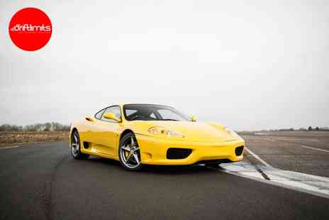 Drift Limits - 14 lap Ferrari 360 Modena driving experience - Save 50%