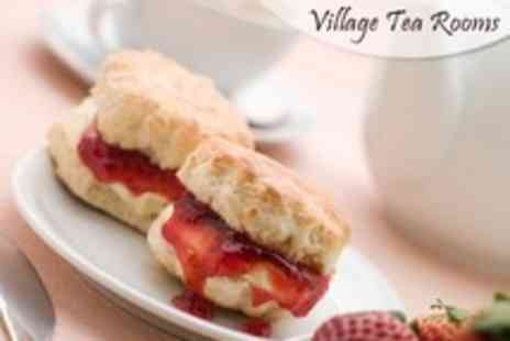 Village Tea Rooms - Afternoon Tea For Two - Save 54%