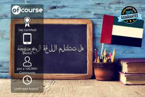 OfCourse - Online arabic for beginners course - Save 41%