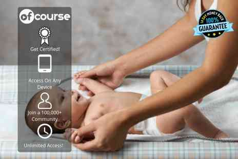 OfCourse - Online baby massage and yoga course - Save 88%