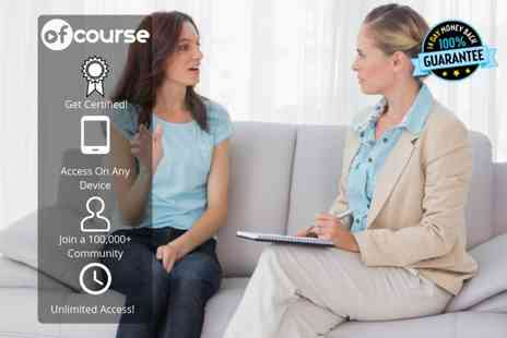 OfCourse - Online CBT and NLP training course - Save 88%