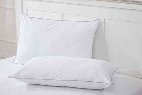 Cascade Home - Pair of luxury like down pillows - Save 0%