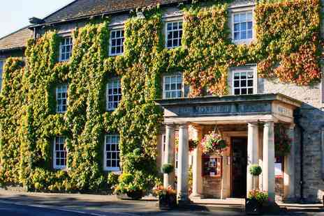 The Morritt Hotel & Garage Spa - 2 AA Rosette 2 course meal and wine for Two - Save 41%