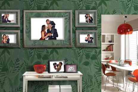 Venture Studios - Family Photoshoot with Two Framed Prints - Save 95%