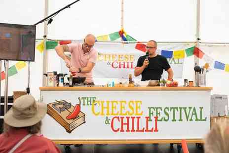 The Cheese & Chilli Festival - Two adult tickets - Save 21%