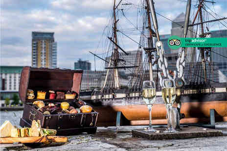 Doubletree by Hilton Docklands - Pirate themed afternoon tea for two people with bottomless bubbly or Caribbean rum punch - Save 65%